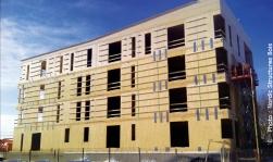 23 logements dans cet immeuble en bois à Chibougameau
