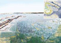 Bouteilles de plastiques contre la hausse des niveaux de l'eau