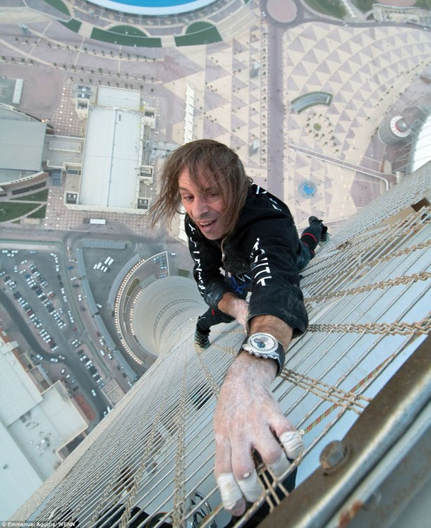 Alain Robert (The French spiderman)