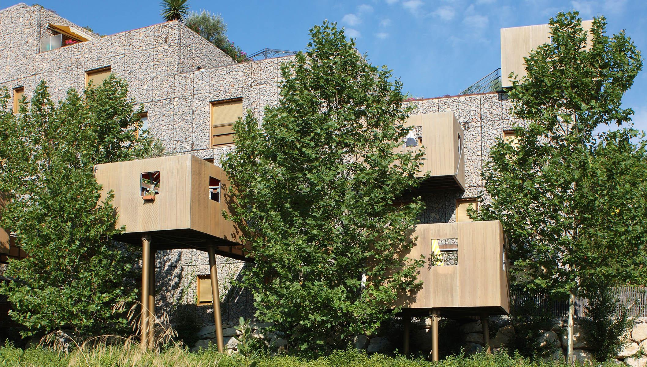 Architecture v g tale urbabillard - Immeuble vegetal ...
