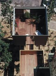 Balcon-cabane, Montpellier, Édouard François