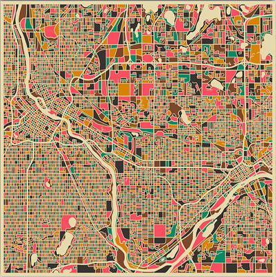 """Twin Cities"": Mineapolis St-Paul (États-Unis)"