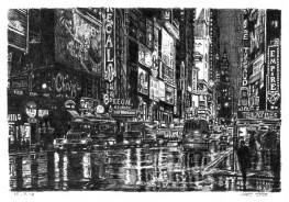 Times Square street scene