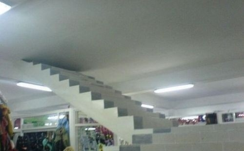 L'escalier vers le prochain plafond