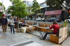 Parklet à San-Francisco