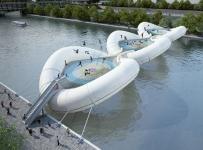Pont-trampoline AZC Architecture Studio 2