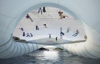 Pont-trampoline AZC Architecture Studio 1