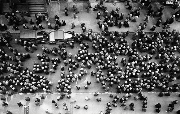Margaret Bourke-White, Garment district, New York City, 1930
