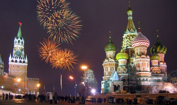 Red Square, Russia, Squares, Beautiful, Moscow, Fireworks, New Years Ev