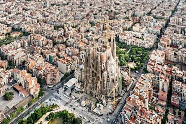 barcelone Sagrada Família Pep Daudé Basílica de la Sagrada Família