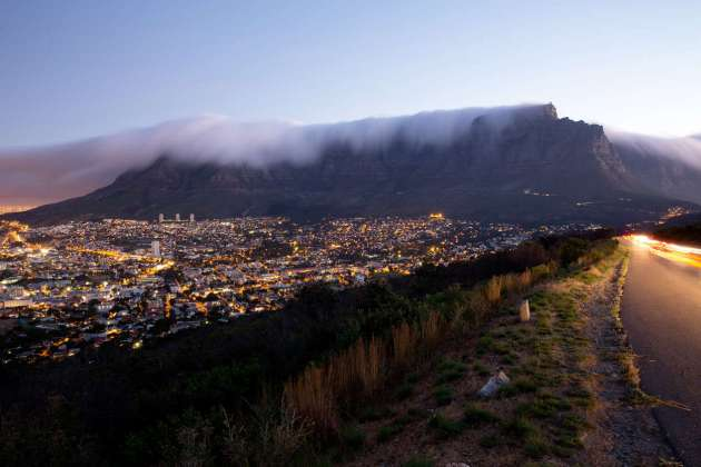 Table Mountain and Cape Town. Samantha Reinders for The New York Times