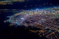 Vicente Laforet vue aérienne de San Francisco