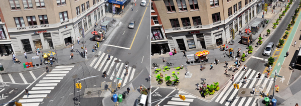 Bigger isn't better when it comes to smart streets. Union Square, Manhattan #tbt streets