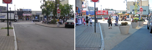 Should auld parking spaces be forgot... Here's to a new yr filled wnew space for people #tbt streets Creston Av BX