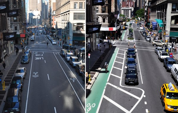 Sts aren't static—there's always new ground to break. As cities evolve, they should too. #tbt streets Broadway