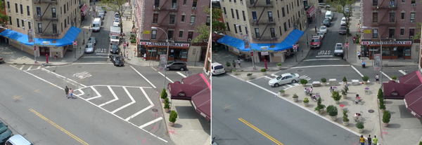 They're made of asphalt & concrete but your sts are not set in stone. Change is possible. Belmont Av, Bx #tbt streets
