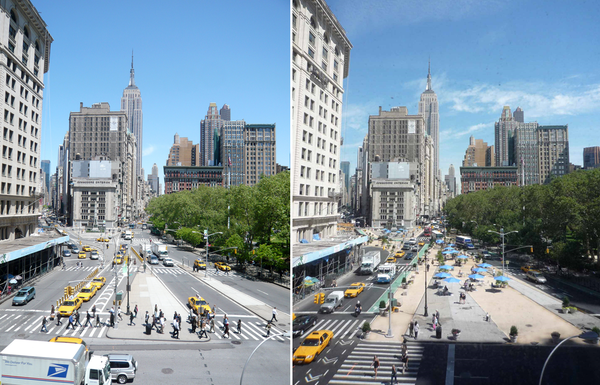 Untie those traffic knots and unlock your city's potential. Flatiron Plaza #tbt streets